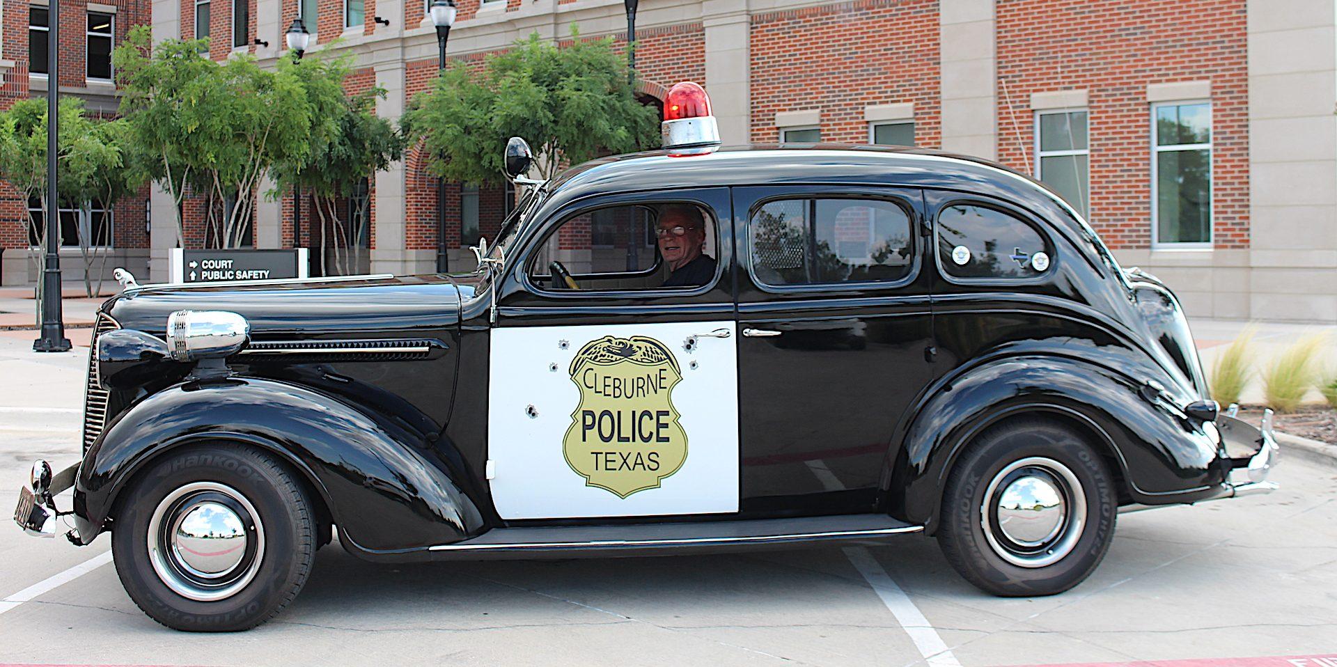1937 Dodge Police Car